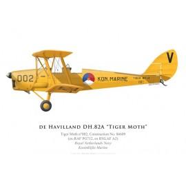 Tiger Moth, Koninklijke Marine (Royal Netherlands Navy)
