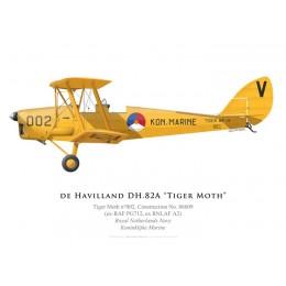 Tiger Moth, Koninklijke Marine (Marine Royale Néerlandaise)