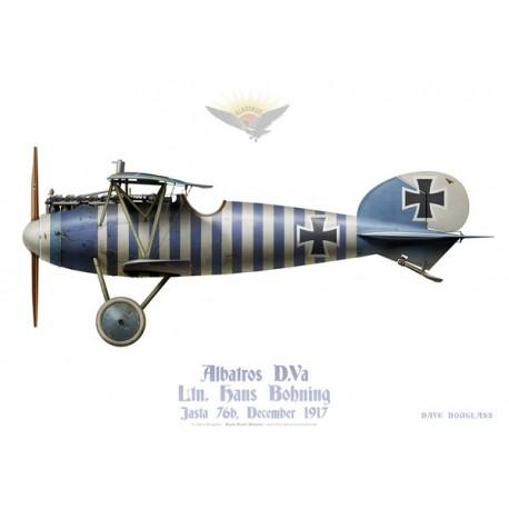 Albatros D.Va, Ltn. Hans Bohning, jasta 76b, décembre 1917