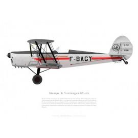 Stampe & Vertongen SV.4A n°1116, F-BAGY