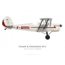 Stampe & Vertongen SV.4A n°247, F-BMMH