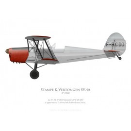 Stampe & Vertongen SV.4A No 1080, F-BCDO