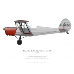 Stampe & Vertongen SV.4A n°1080, F-BCDO