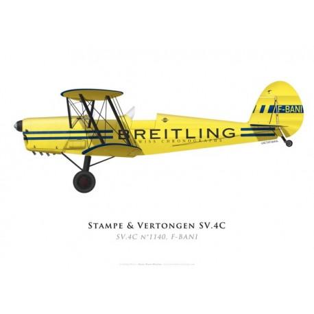 Stampe & Vertongen SV.4A No 1140, F-BANI