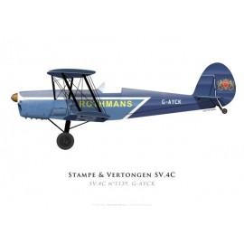Stampe & Vertongen SV.4C n°1139, G-AYCK