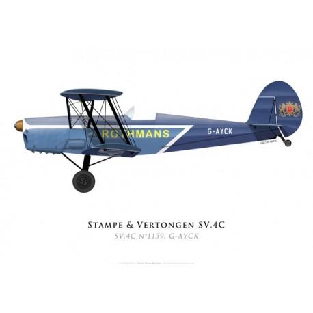 Stampe & Vertongen SV.4C No 1139, G-AYCK