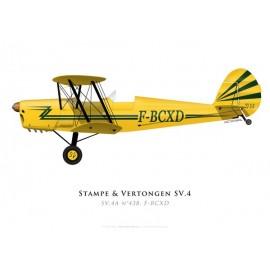 Stampe & Vertongen SV.4A No 438, F-BCXD