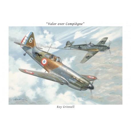 """""""Valor over Compiègne"""" - Roy Grinnell"""