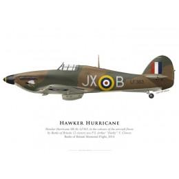 Hawker Hurricane Mk IIc, Battle of Britain Memorial Flight, 2014