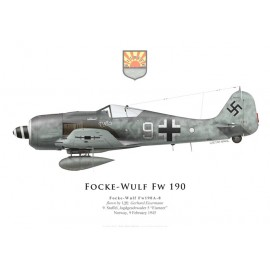 Fw 190A-8, Uffz. Gerhard Eisermann, 9./JG 5, February 1945