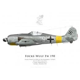 Fw 190A-8, Oblt Georg Ulrici, I./JG 11, décembre 1944