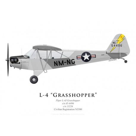 Piper L-4 Grasshopper N5580