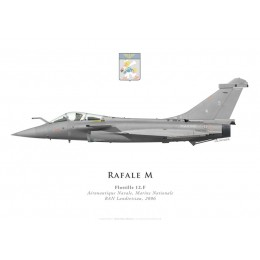 Rafale M5, Flottille 12.F, French Naval Aviation, Landivisiau naval airbase, 2006