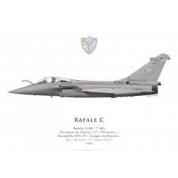 "Rafale C, EC 1/7 ""Provence"", French air force, 2008"