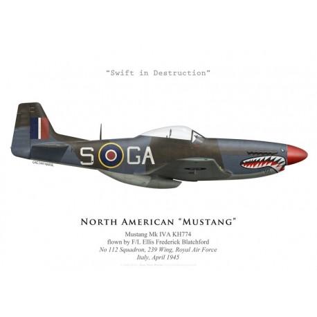 North American Mustang Mk IVA KH774, No 112 Squadron, Royal Air Force, Italy, April 1945