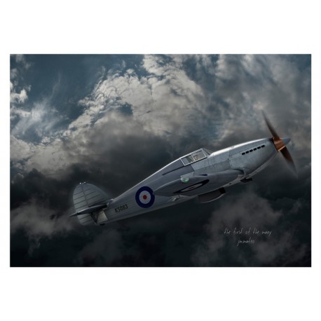The First of the Many I - Hawker Hurricane by Jean-Michel Mateo