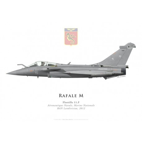 Rafale M15, Flottille 11.F, BAN Landivisiau, 2012