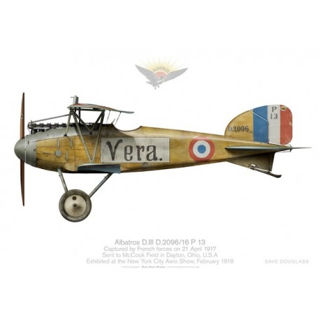 "Albatros D.III ""Vera"" captured by French troops"