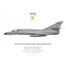 Super Etendard Modernisé, Flottille 17.F, French Navy, Det Kandahar, Afghanistan, 2008