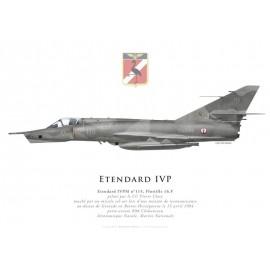 Etendard IVPM, CC Clary, Flottille 16.F, Bosnie, 15 avril 1994