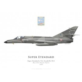 Super Etendard, Escadrille 59.S, BAN Hyères, 1993