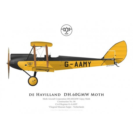 DH.60GMW Gipsy Moth n°86, G-AAMY