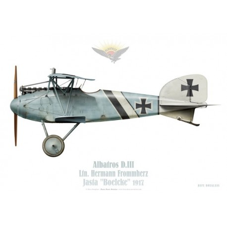"Albatros D.III, Ltn. Frommherz, Jasta ""Boelcke"", 1917"