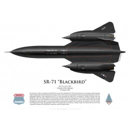 Lockheed SR-71A Blackbird flown by B. Weaver and J. Zwayer, 25 January 1966, Edwards AFB, US Air Force