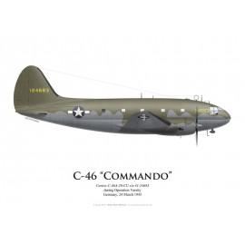 C-46A, Operation Varsity, Germany, 24 March 1945