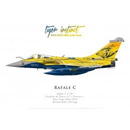 "Dassault Rafale C107, EC 1/7 ""Provence"", NATO Tiger Meet 2013, Ørland MAS, Norvège"