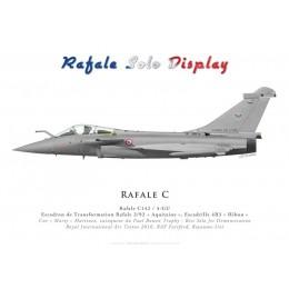 "Rafale C, ETR 2/92 ""Aquitaine"", Rafale Solo Display, RIAT 2016"