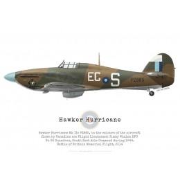 Hawker Hurricane Mk IIc PZ865, Battle of Britain Memorial Flight, 2014