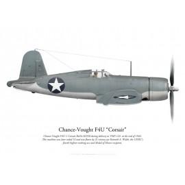 F4U-1 Corsair, VMF-124, fin 1942