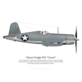 F4U-1 Corsair, VMF-124, late 1942