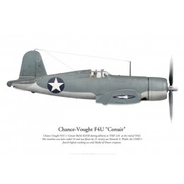 Chance-Vought F4U-1 Corsair, VMF-124, late 1942