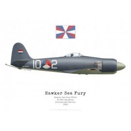 Sea Fury FB.11, No 860 Squadron, Marine Royale Néerlandaise, 1948