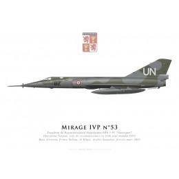 """Mirage IVP, Escadron de Reconnaissance Stratégique 1/91 """"Gascogne"""", French air force, Operation Tarpan, Irak, 2003"""