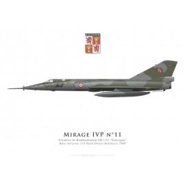 "Mirage IVP, Escadron de Bombardement 1/91 ""Gascogne"", French air force, 1988"