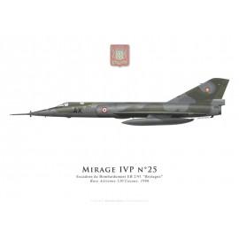 """Mirage IVP, Escadron de Bombardement 2/91 """"Bretagne"""", BA 120 Cazaux, 1996"""