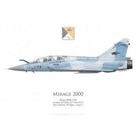 "Mirage 2000B, EC 2/2 ""Côte d'Or"", BA 103 Dijon-Longvic"