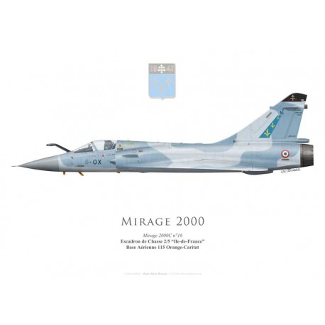 "Mirage 2000C, Escadron de Chasse 2/5 ""Ile-de-France"""