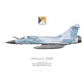 "Mirage 2000C, EC 2/2 ""Côte d'Or"", BA102 Dijon-Longvic"