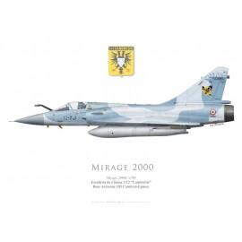 """Mirage 2000C n°80, EC 1/12 """"Cambrésis"""", BA 103 Cambrai-Epinoy"""