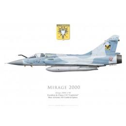 """Mirage 2000C No 80, EC 1/12 """"Cambrésis"""", BA 103 Cambrai-Epinoy"""