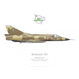 "Mirage IIIC, Escadron de Chasse 3/10 ""Vexin"", Détachement Air 188 Djibouti"