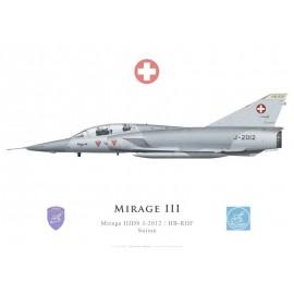 Mirage IIIDS, J-2012 / HB-RDF, preserved in Switzerland
