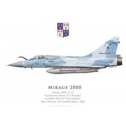 "Mirage 2000C No 114, EC 2/12 ""Picardie"", Base Aérienne 103 Cambrai-Epinoy, 2008"