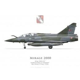 """Mirage 2000D, EC 2/3 """"Champagne"""", BA 133 Nancy-Ochey"""
