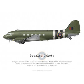 "Dakota ZA947 ""Kwicherbichen"", RAF Battle of Britain Memorial Flight"