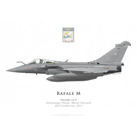 Rafale M, Flottille 12.F, French naval aviation, 2012